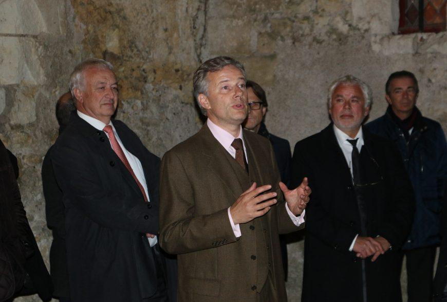 Dîner du 12 Novembre 2015 <br />aux châteaux Gaillard et de Pray <br />avec Michel Guénaire