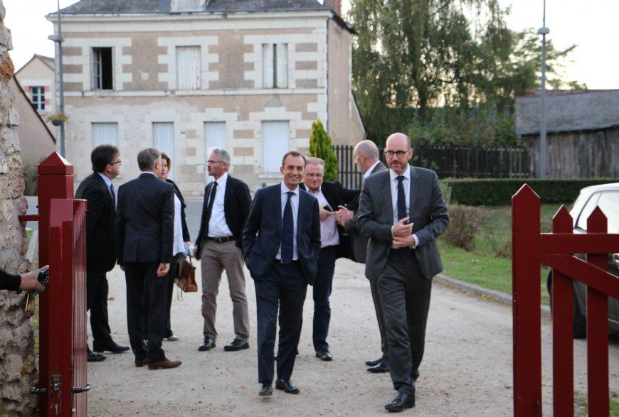 Dîner du 28 septembre 2016 <br>au château de Fougères-sur-Bièvre <br>avec Frédéric Dabi (Ifop)
