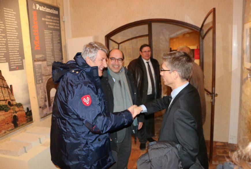 Dîner du 1er Décembre 2016 <br>à Vendôme <br>avec Philippe de Villiers