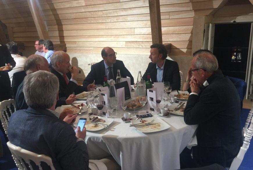 Dîner du 1er juin 2017, à Thiron-Gardais, avec Stéphane Bern